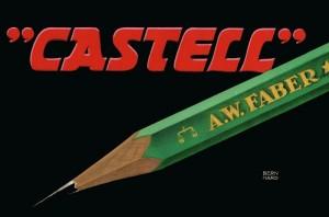 2. Castell 9000 Pencil