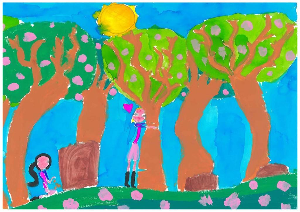 Arianna G. de Italia (9 años).