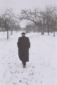 Robert Walser paseando.