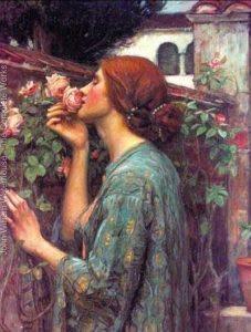 El Alma de la Rosa. J. W. Waterhouse, 1908.